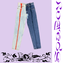 "Load image into Gallery viewer, POPSICLE JEANS. 27"". SPLIT"