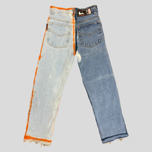 "Load image into Gallery viewer, PICNIC PANTS. 27"". HALF N HALF"