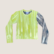 Load image into Gallery viewer, SCANNER LONG SLEEVE, LIME/NAVY - SPABOY ORIGINAL