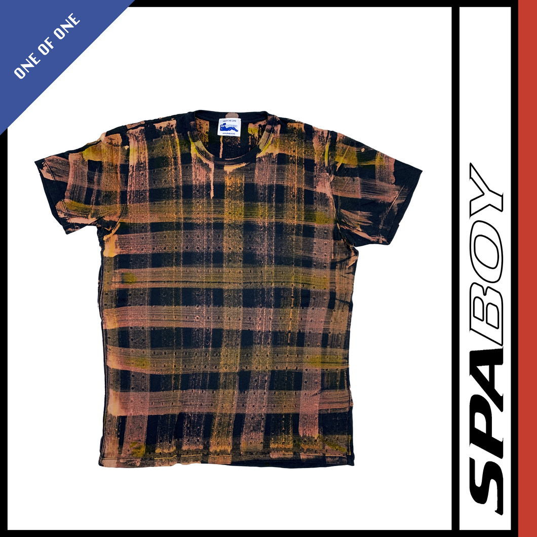 VINTAGE PLAID TEE - VARIOUS SIZES