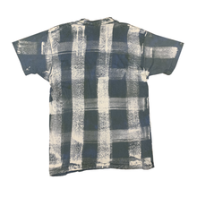 Load image into Gallery viewer, VINTAGE PLAID TEE IN FOREST GREEN