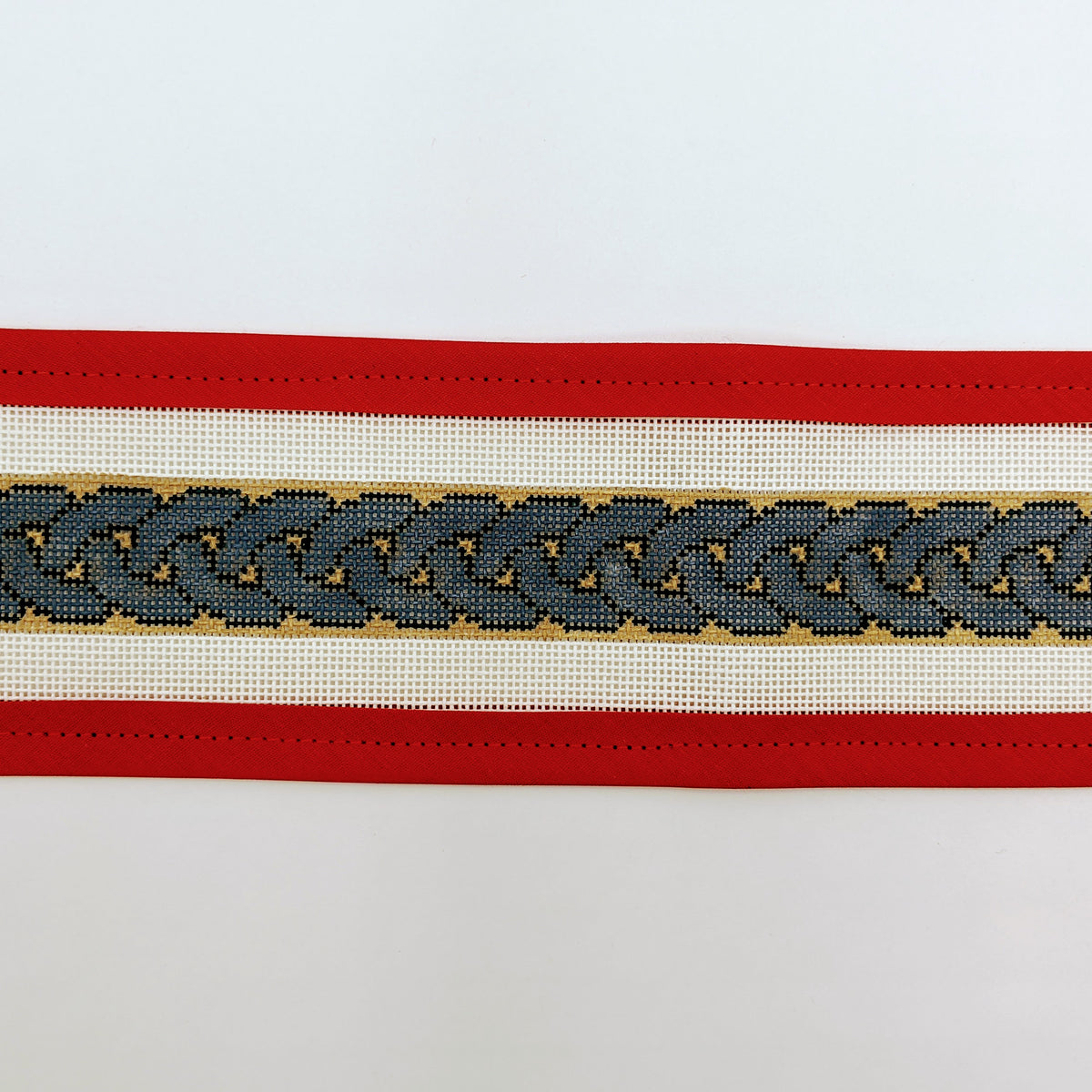 Braided Blues belt