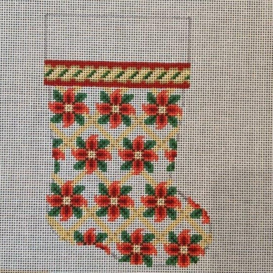Poinsettia Mini Stocking