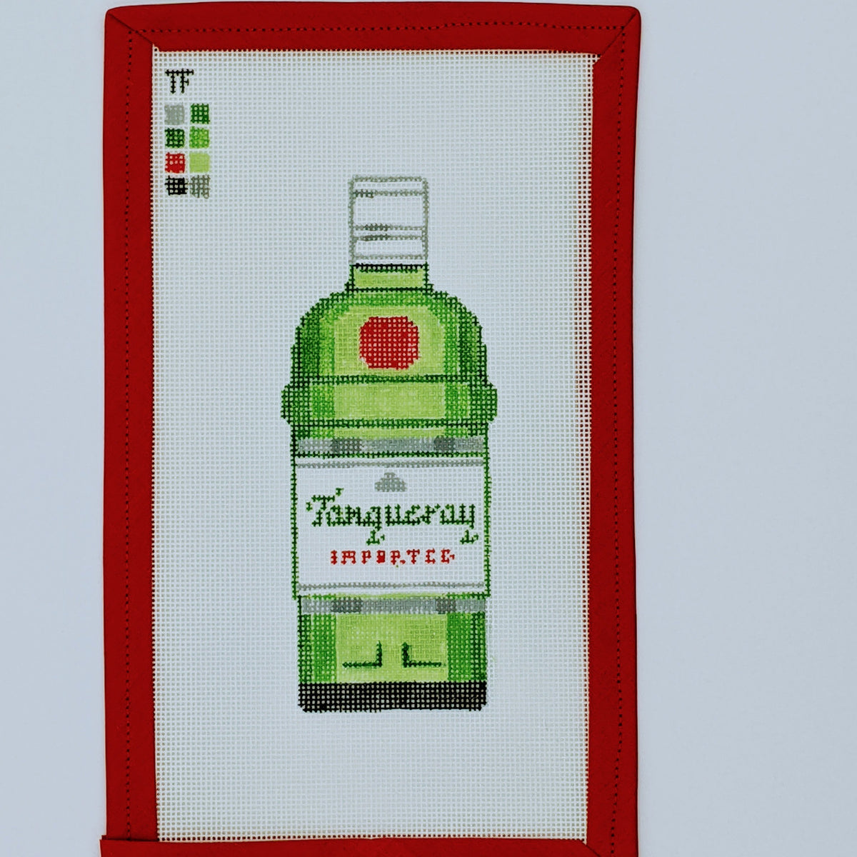 Tanqueray Gin Bottle