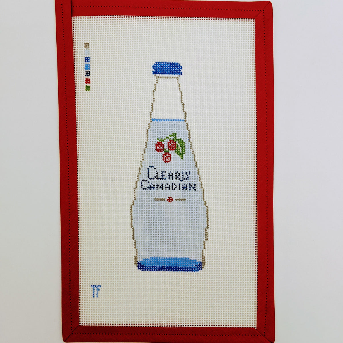 Clearly Canadian bottle (raspberry)