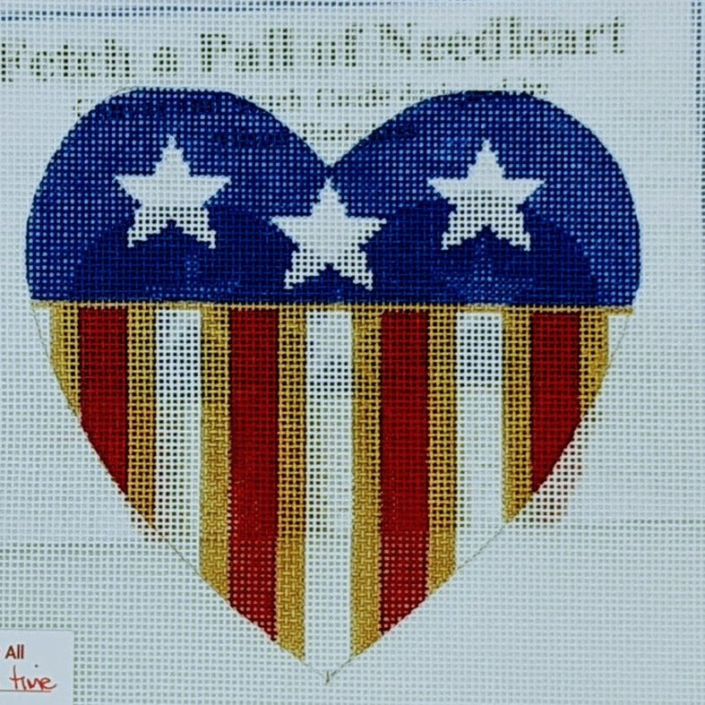 Patriotic Heart (Large)