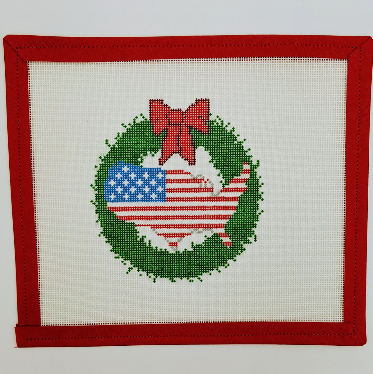 USA Wreath Ornament