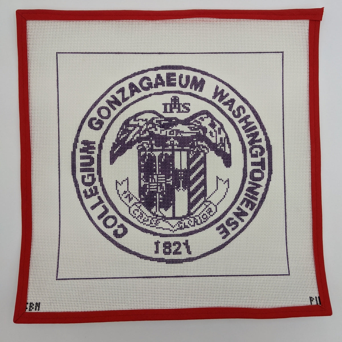 Gonzaga College High School Seal Pillow