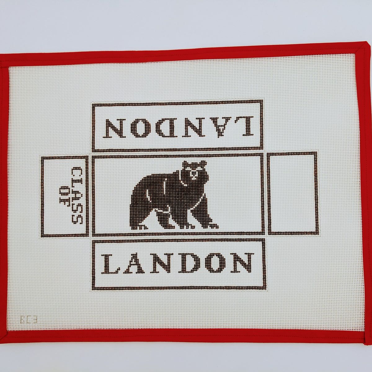 Landon School Bear Brick Cover