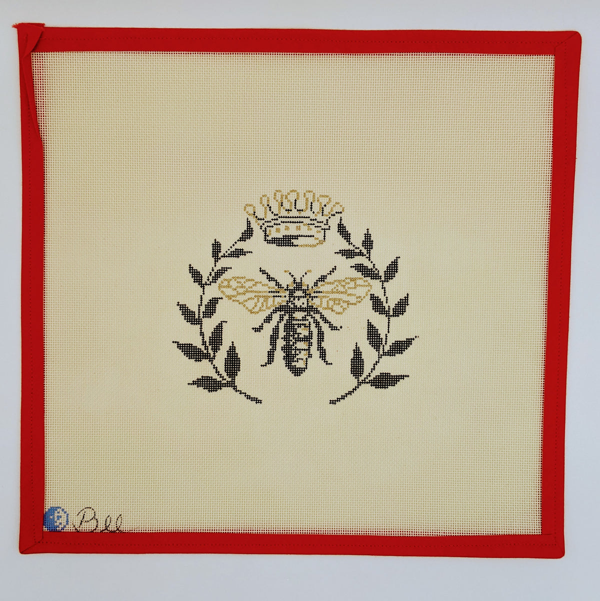 Bee with Laurel Wreath