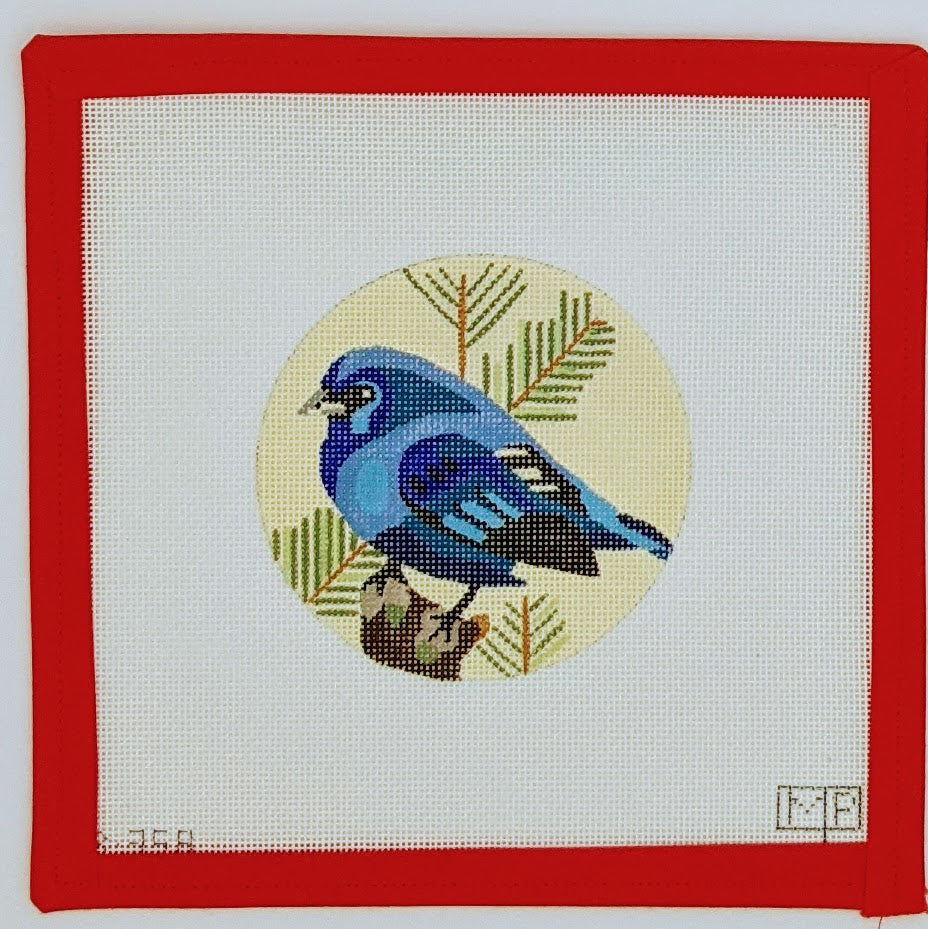 Blue Bird of Happiness Ornament