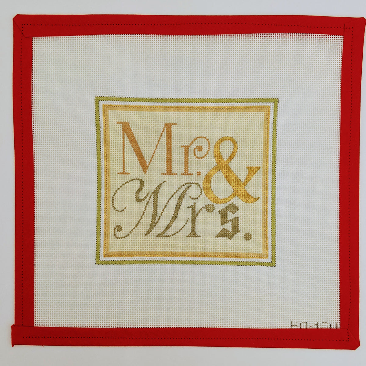 Mr. & Mrs. (Mr. & Mr. and Mrs. & Mrs. also available) Pillow