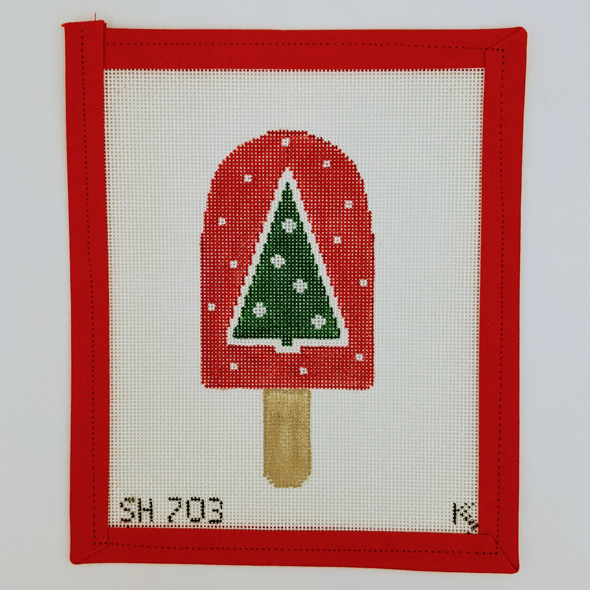 Christmas Tree Dreamsicle Ornament