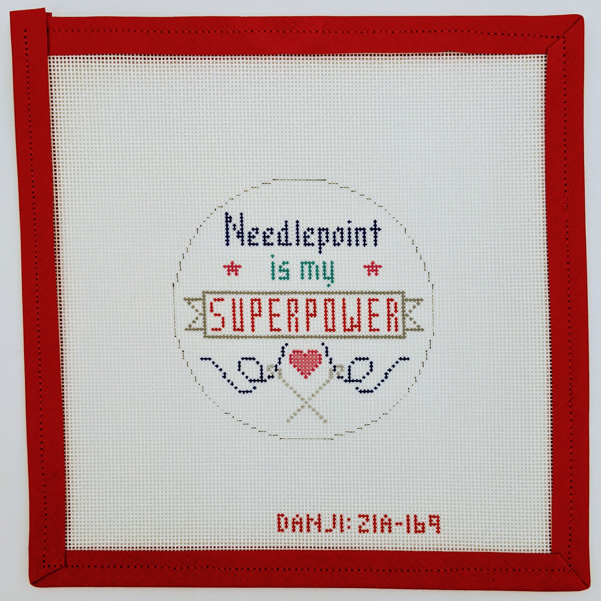 Needlepoint Super Power