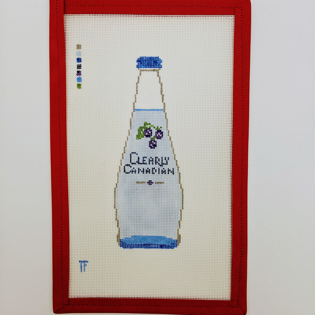Clearly Canadian bottle (blackberry)