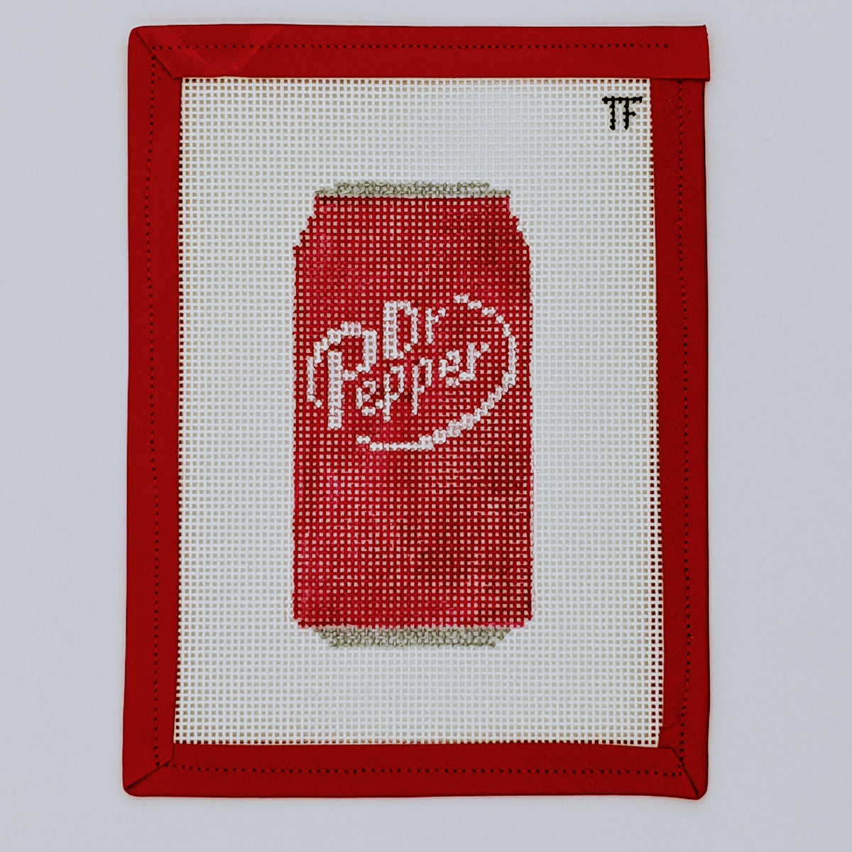 Dr. Pepper soda can ornament