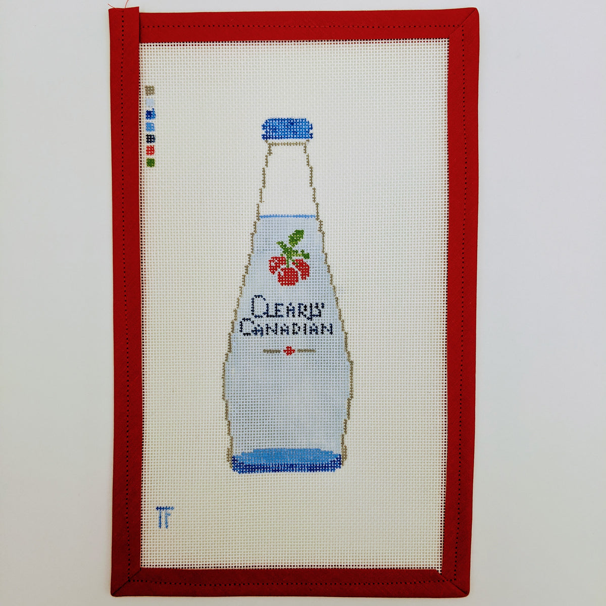 Clearly Canadian bottle (cherry)