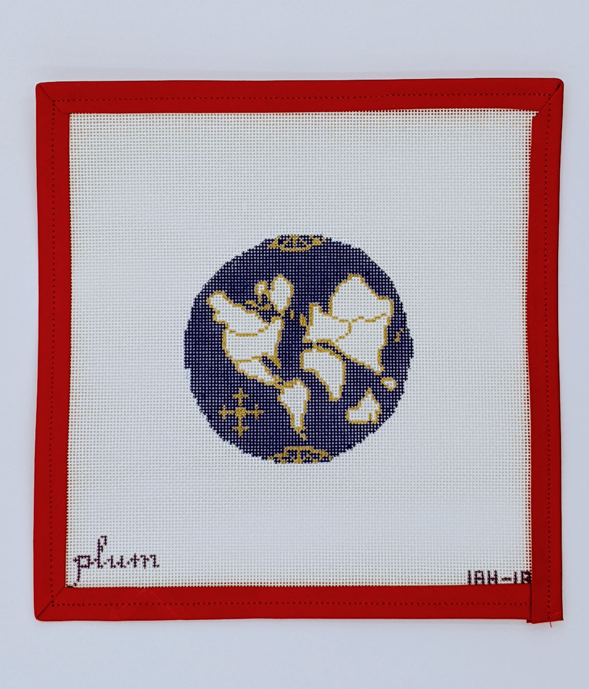 Atlas round (small, royal blue)