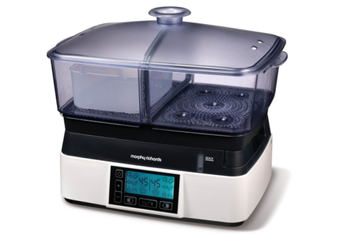 Morphy Richards Compact Intellisteam food steamer