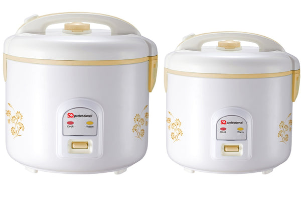 Delux Rice Cooker Electric Automatic Steamer Cooking Pot Non Stick Bowl