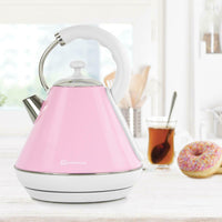 Electric Kettle Legacy Cordless Jug Fast Boil Kettles 2200W 1.8L Pink Green Blue