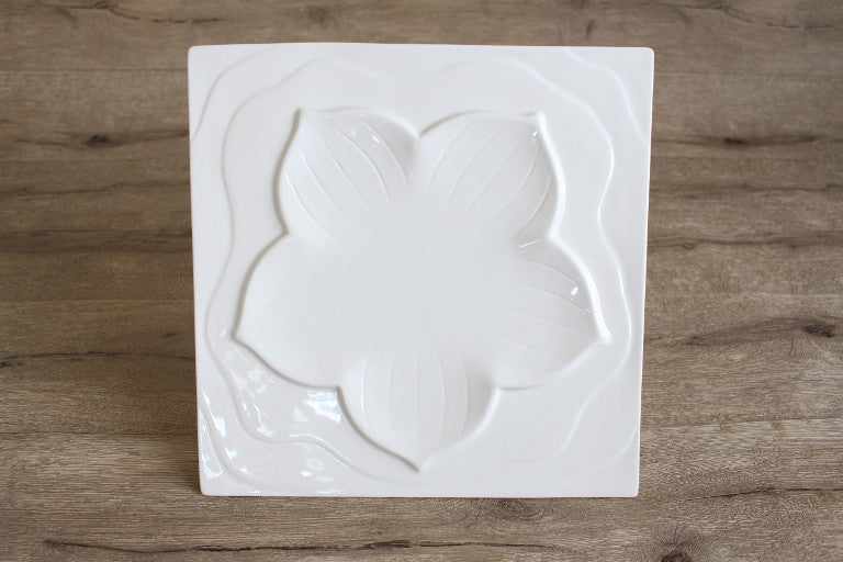 Lily Square Plate
