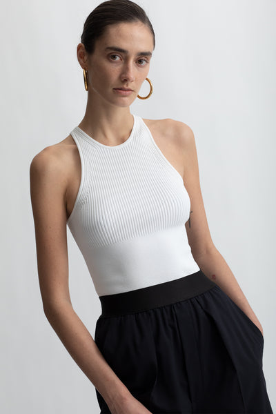 Recycled Nylon Racer Tank Top