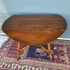 152.....Ercol Dining Table / Ercol Dropleaf Kitchen Table ( SOLD )