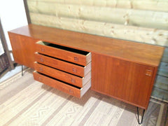 Magnificent Danish Retro Teak Sideboard