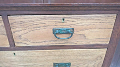 Handsome Arts And Crafts Oak Chest....Oak Chest Of Drawers