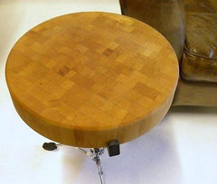 UPCYCLED DRUM TABLE