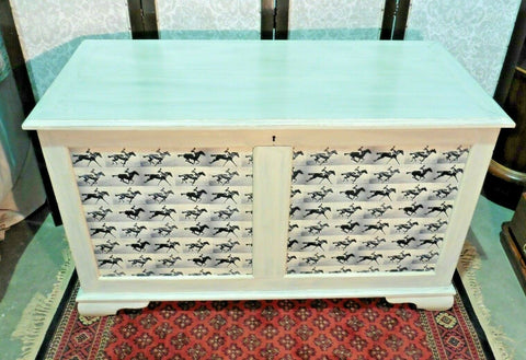 380.....Unique Large Vintage Storage Chest / Upcycled Coffer