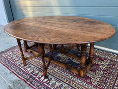 153.....Gorgeous Oak Gateleg Coffee Table / Drop Leaf Coffee Table