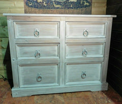 422.....Large Modern Upcycled Chest Of Drawers / Pine Bank Of Drawers