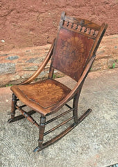 Gorgeous Vintage Rocking Chair / Edwardian Rocker