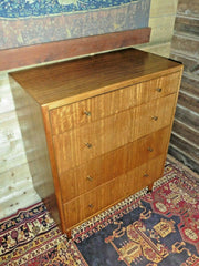 404.....Lovely Retro 4 Drawer Chest / Mid Century Modern Chest Of Drawers ( SOLD )