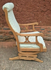 Lovely American Rocking Chair Vintage Oak Rocking Chair