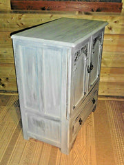 Vintage Upcycled Cabinet / Drinks Cabinet / Media Cabinet