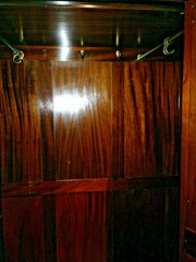 426.....Stunning Vintage Wardrobe / Aesthetic Movement Mahogany Wardrobe ( SOLD )