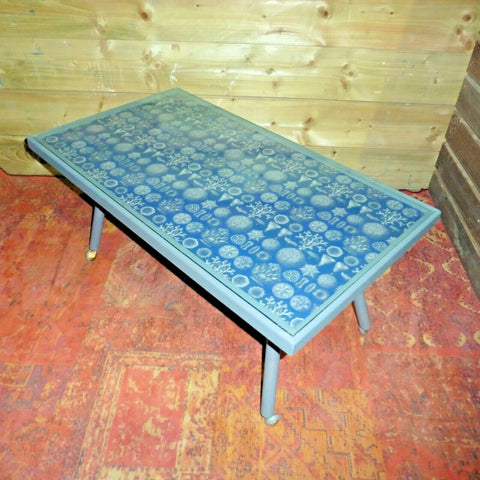 409.....Lovely Upcycled Retro Coffee Table / Mid Century Modern Coffee Table