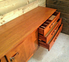 Stunning Teak Retro Sideboard By Beautility