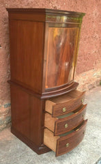 321.....Stunning Vintage Cabinet On Chest Drinks Cabinet