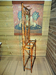 402.....Vintage Bamboo Hall Stand / Early 20th Century Stick Stand