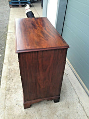 234.....Handsome Early Georgian Mahogany Chest / Antique Chest Of Drawers ( SOLD )
