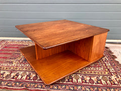 156...Rare G Plan Square Centrepiece Coffee Table / Retro Teak Coffee Table ( SOLD )