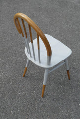 Pair Of 1960's Ercol Windsor Kitchen Chairs