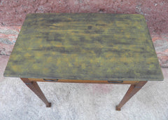Arts And Crafts Oak Writing Table / Side Table