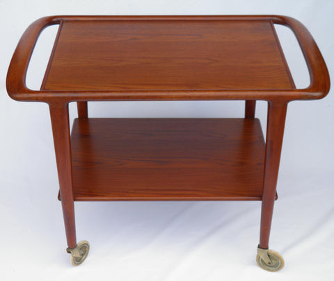 Møller Trolley, Rare Retro Teak Serving Trolley