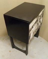Funky Retro Upcycled 'New York' Record Cabinet