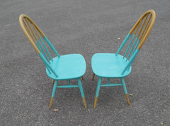 PAIR OF ERCOL QUAKER WINDSOR CHAIRS